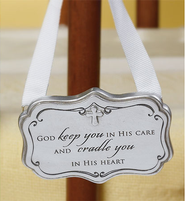 God Keep You in His Care Crib Adornment   -