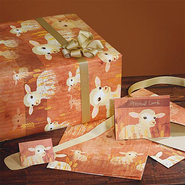 Precious Lamb, First Communion Giftwrap   -