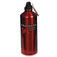 Firefighter Travel Water Bottle   -