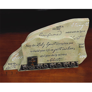 Confirmation Shelf Plaque  -