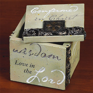 Confirmation Trinket Box  -