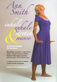 Inhale, Exhale, Stretch & Move  DVD  -