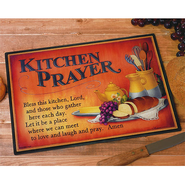 Kitchen Prayer Cutting Board  -