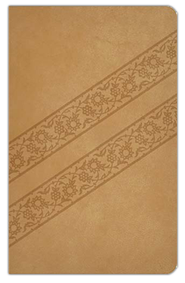NKJV Compact Ultraslim Bible, Leathersoft, Butterscotch  -