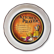 Kitchen Prayer Pie Plate  -