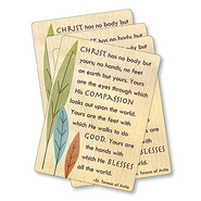 Christ Has No Body But Yours Prayer Cards, Pack of 25  -