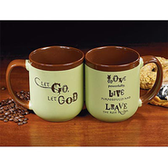 Let Go, Let God Mug   -