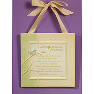Sleepytime Prayer Plaque  -