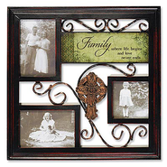 Irish Family Photo Plaque  -
