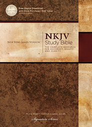 NKJV Study Bible, Second Edition, Hardcover  -