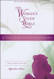 KJV The Woman's Study Bible, Hardcover  -