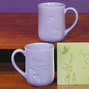 Peace Fall Into the Arms Mug  -