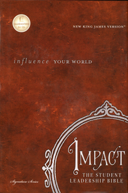 The NKJV Impact Student Leadership Bible Hardcover: Influence Your World - Slightly Imperfect  -