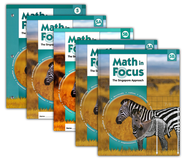 Math in Focus: The Singapore Approach Grade 5 Student Pack  -