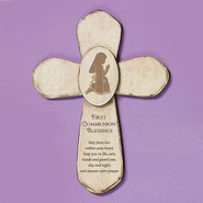 Girl First Communion Cross  -
