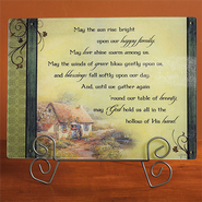 Irish Prayer Cutting Board  -