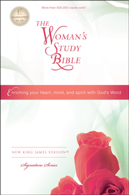 NKJV The Woman's Study Bible, Hardcover, Repackaged  -