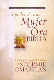 Biblia el Poder de Una Mujer Que Ora NVI, Enc. R&#250stica  (The Power of a Praying Woman NIV Bible, Softcover)   -     By: Stormie Omartian