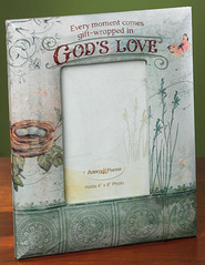 God's Love Photo Frame  -