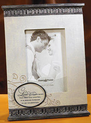 Love Is A Heart Bond Photo Frame  -