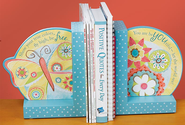 Show Your True Colors Butterfly Bookends  -