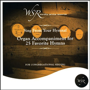 Organ Accompaniment for 25 Favorite Hymns CD   -