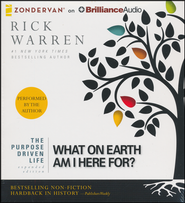 The Purpose Driven Life: What on Earth am I Here For?, expanded edition - unabridged audiobook on CD  -     By: Rick Warren