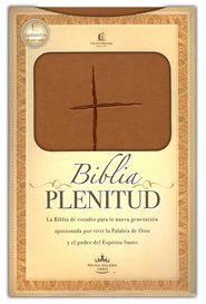 Biblia Plenitud RVR 1960 Tam. Manual, Piel Imit. Terracota  (RVR 1960 SFL Bible, Handy Size, Imit. Leather Terracotta)  -
