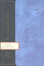 Ruth & Esther, MacArthur Bible Study - Slightly Imperfect  -