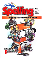 A Reason For Spelling, Level F: Student Worktext   -