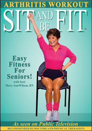 Sit and Be Fit: Arthritis Workout, DVD   -