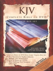 KJV Complete Bible on DVD, Deluxe Edition  - Slightly Imperfect  -