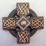 Irish Celtic Cross Magnet  -
