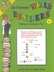 Dr. Funster's Word Benders B1, Grades 5-6   -     By: Sandra Parks, Howard Black