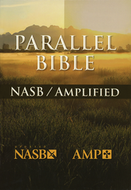 Amplified & NASB Parallel Bible Hardcover  -