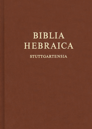 Biblia Hebraica Stuttgartensia, Compact Edition   -     Edited By: Karl Elliger, Willhelm Rudolph