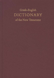 A Concise Greek-English Dictionary of the New Testament   -     By: B.M. Newman Jr.