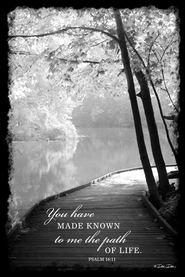 You Have Made Known to Me the Path of Life Mounted Print  -              By: Dee Dee