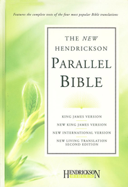 Hendrickson Parallel Bible, hardcover - Slightly Imperfect   -