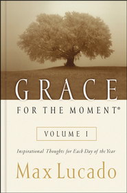 Grace For the Moment  - Slightly Imperfect  -     By: Max Lucado