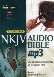 NKJV Complete Audio Bible on MP3-voice only  - Slightly Imperfect  -