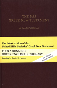 The UBS Greek New Testament, A Reader's Edition   -     Edited By: Barbara Aland     By: Barbara Aland, ed.