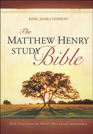 The Matthew Henry Bible, hardcover   -