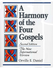 NIV Harmony of the Four Gospels, Second Edition   -     By: Orville Daniel