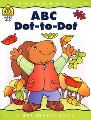 ABC Dot-to-Dot Get Ready Workbook   -     By: Joan Hoffman