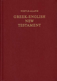 Greek-English New Testament,  Nestle-Aland 27th Edition  -              Edited By: E. Nestle, Barbara Aland, Kurt Aland