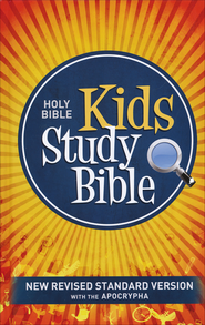 NRSV Kids Study Bible with the Apocrypha, Hardcover   -
