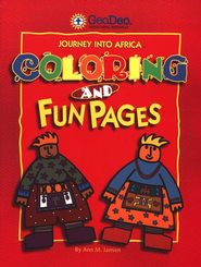 Journey Into Africa: Coloring and Fun Pages   -     By: Ann M. Jansen
