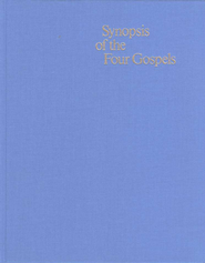 Synopsis of the Four Gospels: Greek-English Edition  -     Edited By: Kurt Aland