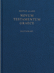 Novum Testamentum Graece, 27th Edition (NA27) with Concise Greek-English Dictionary  -     Edited By: Eberhard Nestle, Barbara Aland, Kurt Aland     By: Edited by Eberhard Nestle; Barbara & Kurt Aland et al.